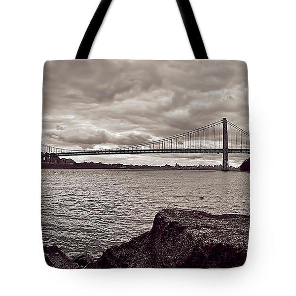 George Washington Bridge Tote Bag