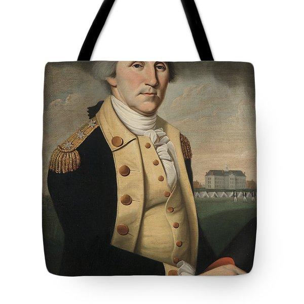 George Washington Tote Bag by Charles Peale Polk