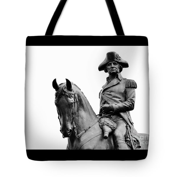 George Washington Statue Boston Ma Tote Bag