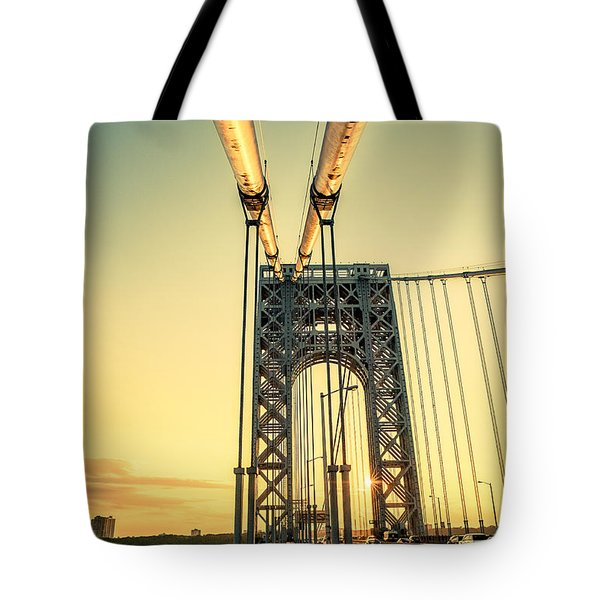 George Washington Sunset Tote Bag