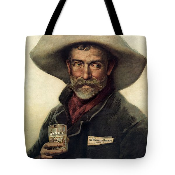George Wiedemann's Brewing Company C. 1900 Tote Bag by Daniel Hagerman