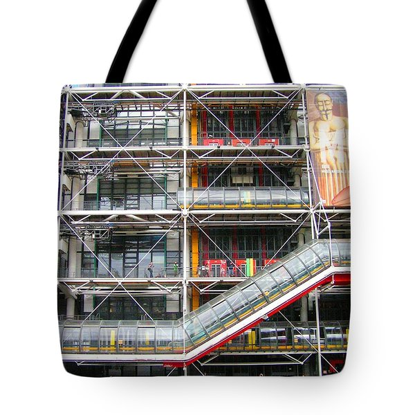 Georges Pompidou Centre Tote Bag