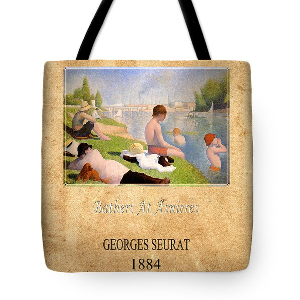 Georges Seurat 1 Tote Bag by Andrew Fare
