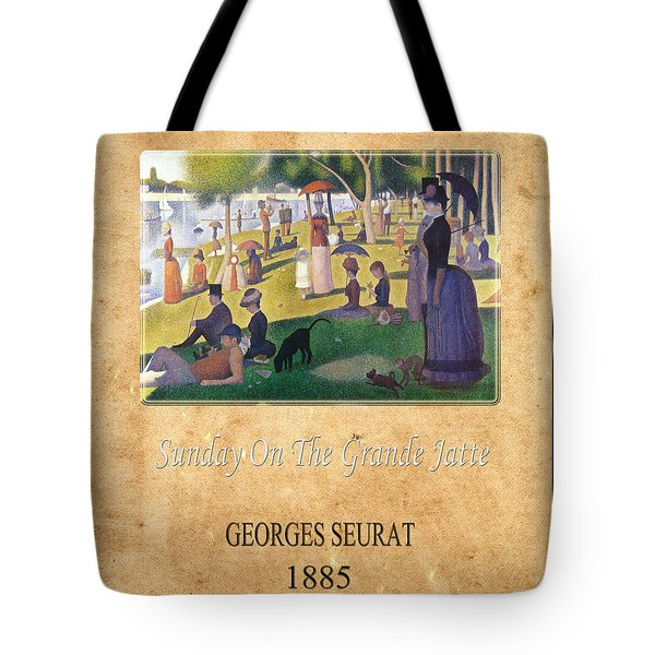 Georges Seurat 2 Tote Bag by Andrew Fare