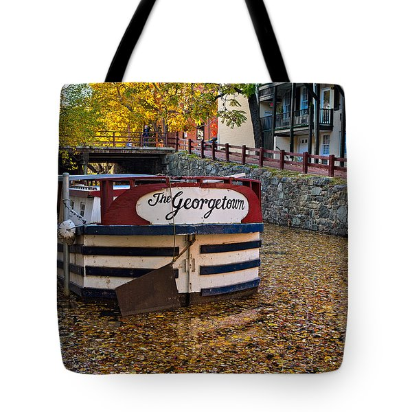 Georgetown Barge Tote Bag
