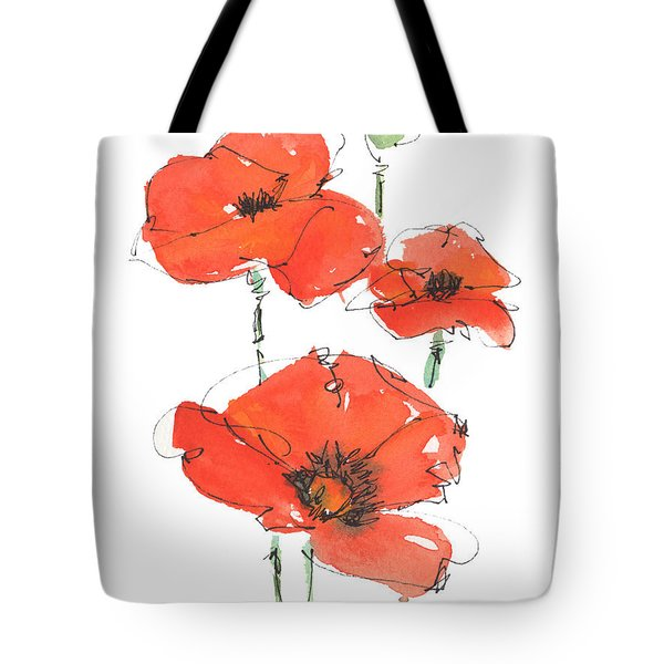 Georgetown Texas The Red Poppy Capital Tote Bag