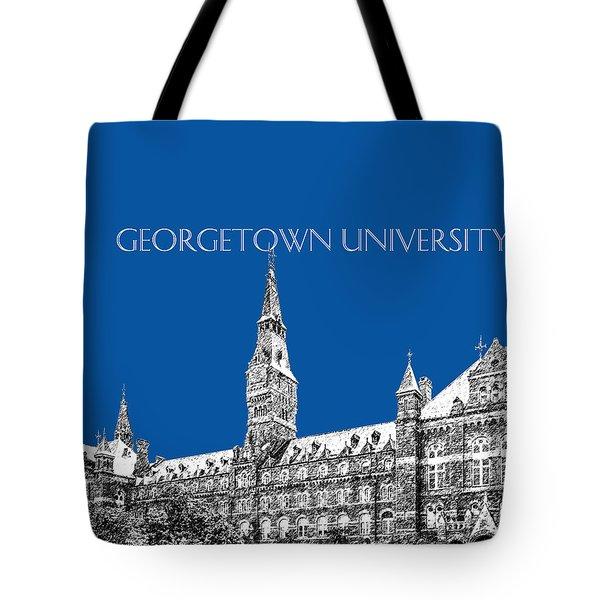 Georgetown University - Royal Blue Tote Bag