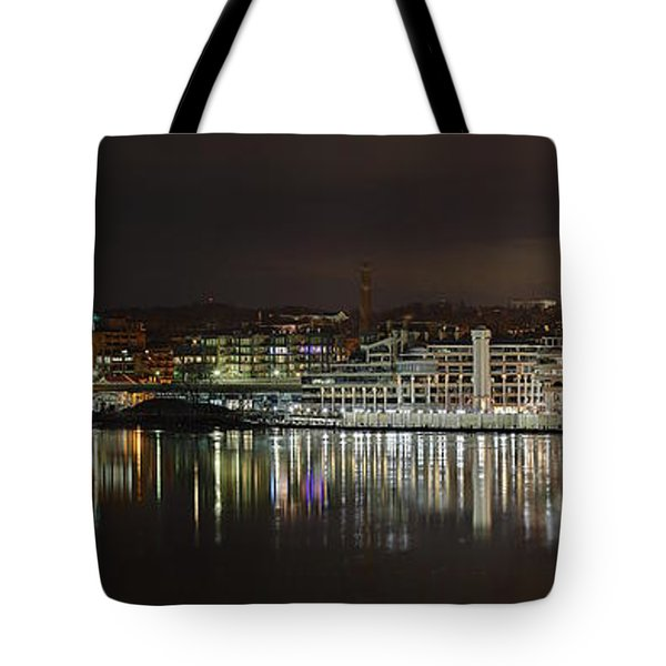 Georgetown Waterfront Tote Bag