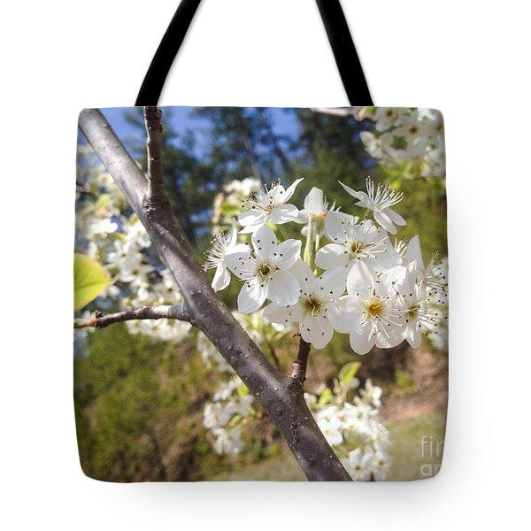 Georgia Blossoms Tote Bag