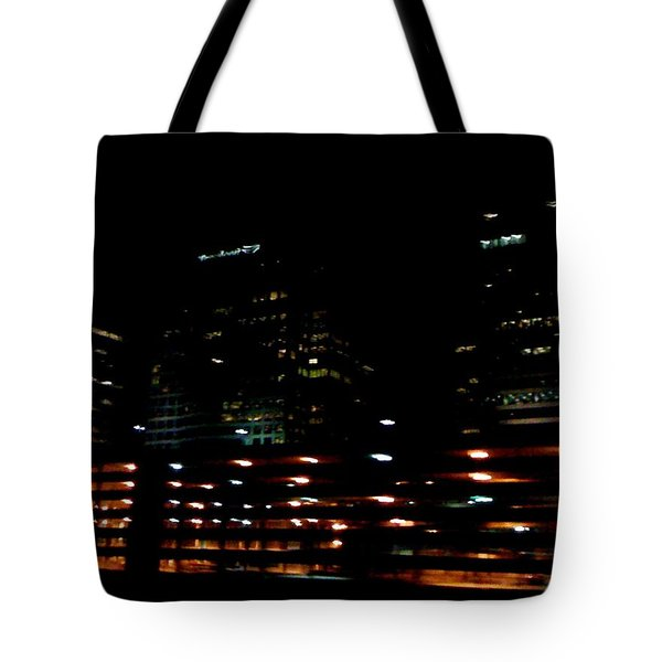 Georgia Lights Tote Bag