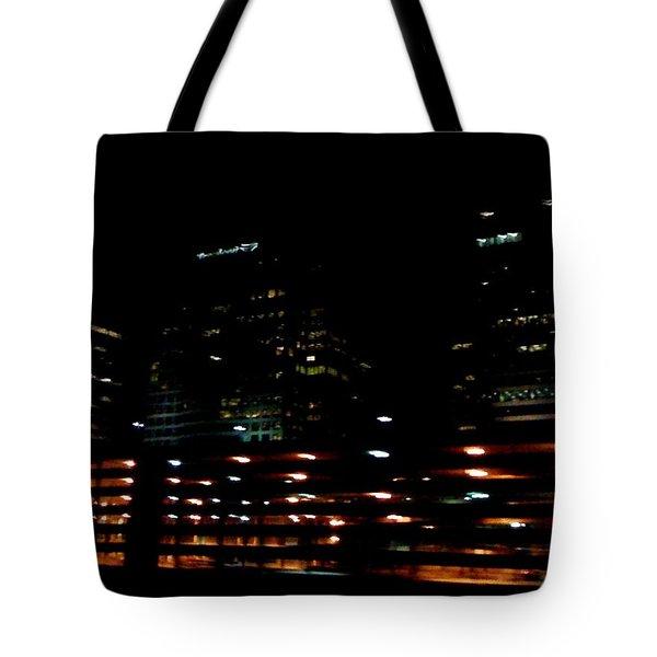 Georgia Lights Tote Bag
