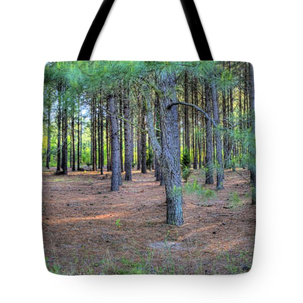 Georgia Pine Forest Tote Bag
