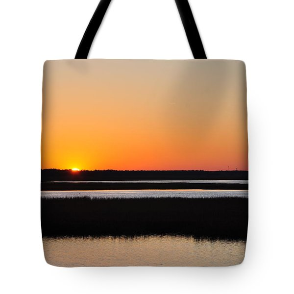 Georgia Sunset Tote Bag