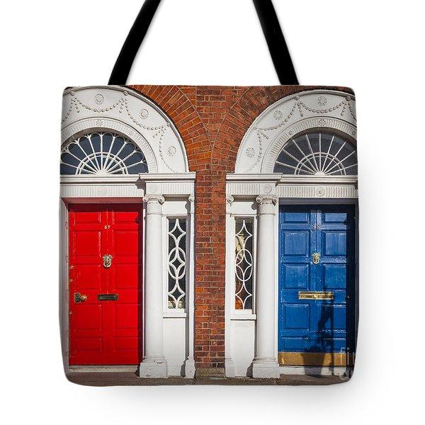 Georgian Doors Tote Bag by Inge Johnsson