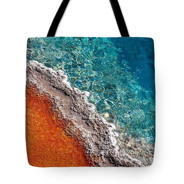 Geothermic Layers Tote Bag by Todd Klassy
