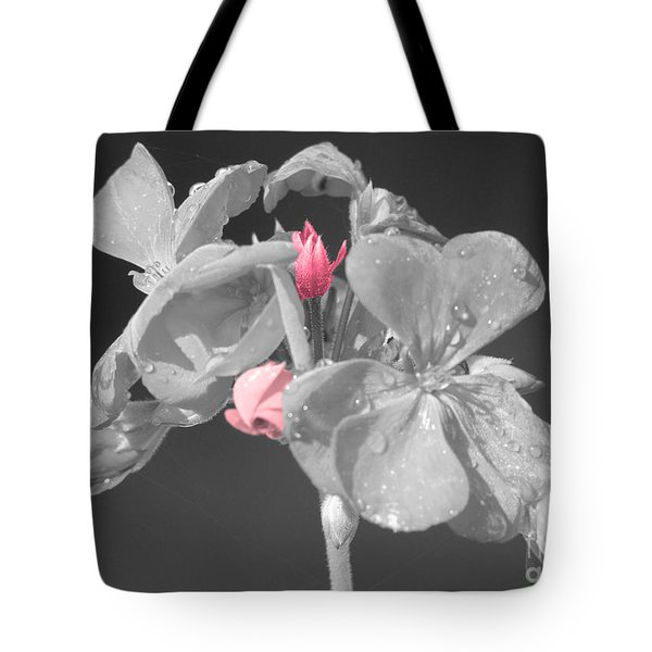 Geranium Tote Bag by Cindy Manero