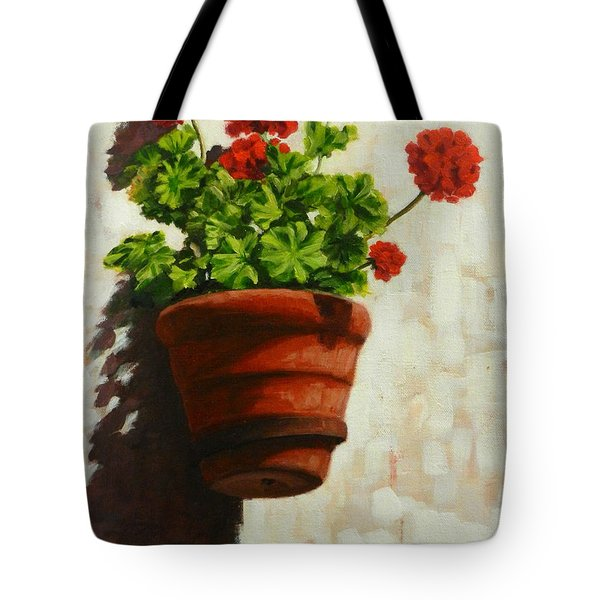 Geranium Delight Tote Bag