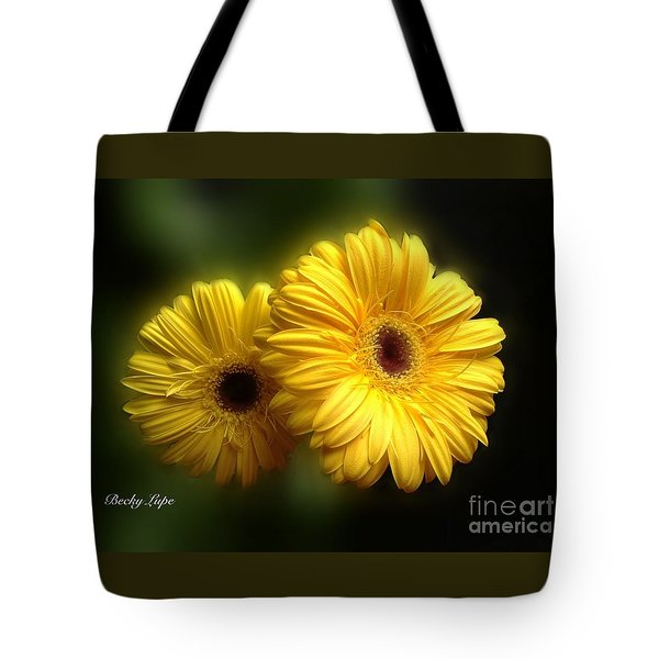 Gerber Babies Tote Bag by Becky Lupe