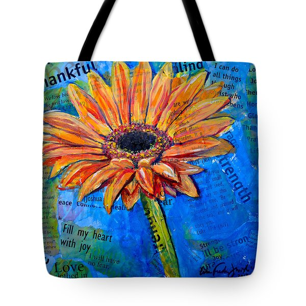 Gerbera Daisy Love Tote Bag