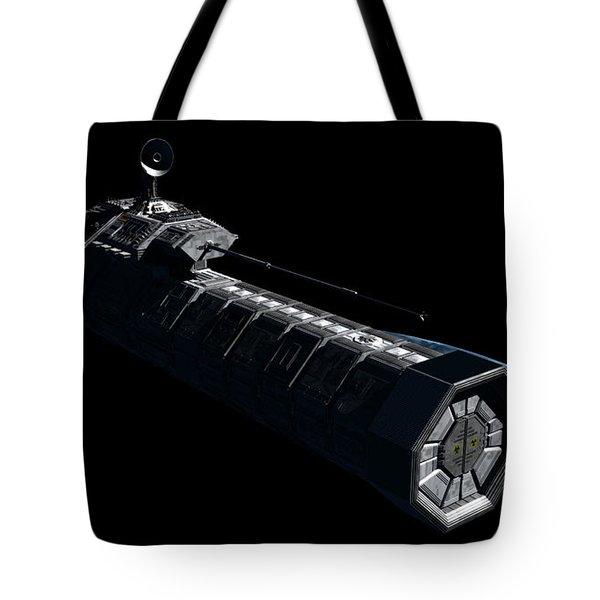 German Orbital Weapons Platform Tote Bag by Rhys Taylor