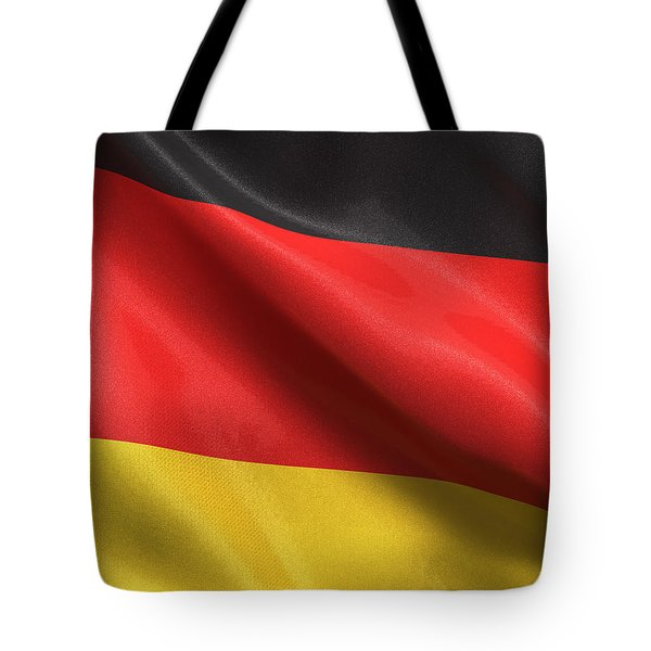 Tote Bag featuring the photograph Germany Flag by Carsten Reisinger