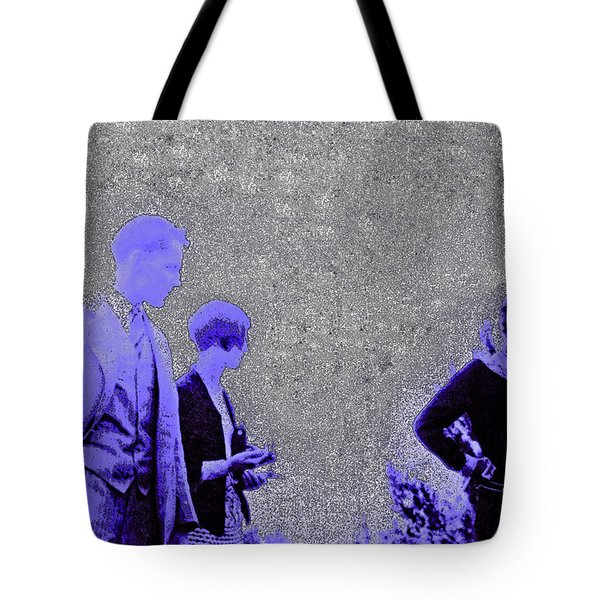 Gertrude Fashion 1920s Tote Bag by First Star Art