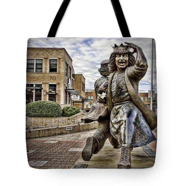 Gertrude Late For Interurban Tote Bag by Joanna Madloch