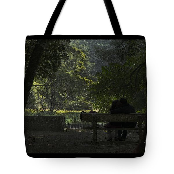 Romantic Moments Tote Bag