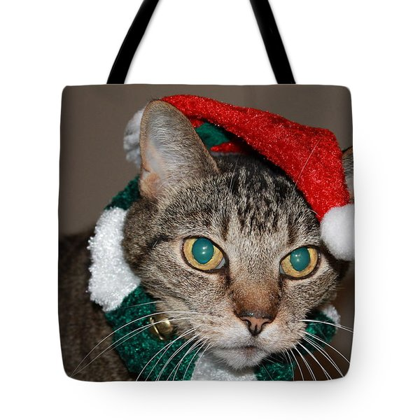 Get This Thing Off Of Me Tote Bag by Catie Canetti