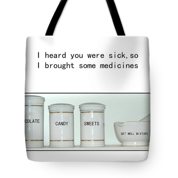 Tote Bag featuring the photograph Get Well Sweets by Randi Grace Nilsberg