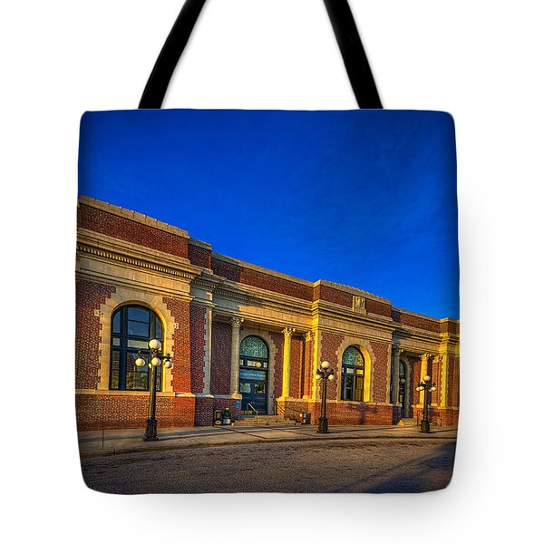 Get Your Ticket Tote Bag by Marvin Spates