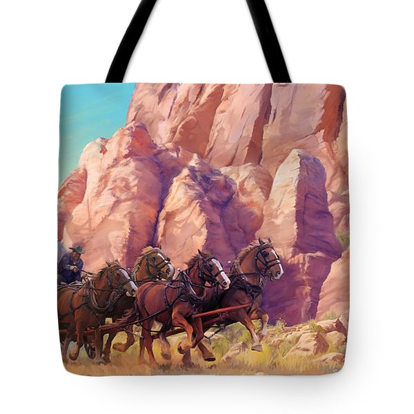 Gett'en Through Tote Bag