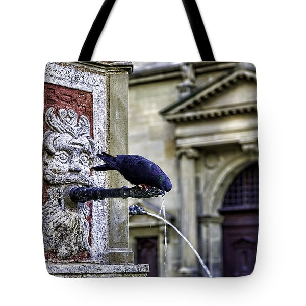 Getting A Drink Tote Bag by Joanna Madloch