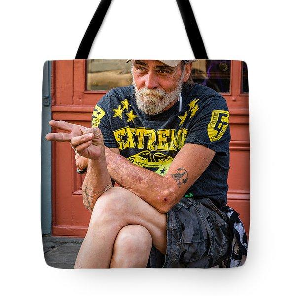Getting By Tote Bag by Steve Harrington