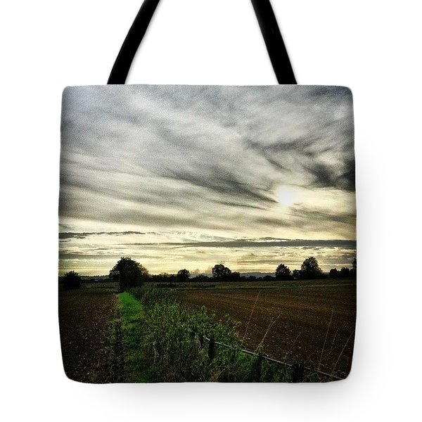 Getting Chilly Out There Tote Bag