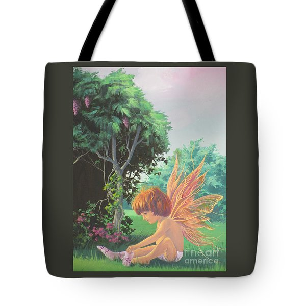 Getting Dressed Tote Bag