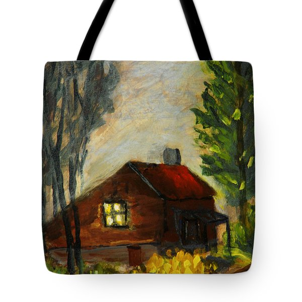 Getting Home At Twilight Tote Bag
