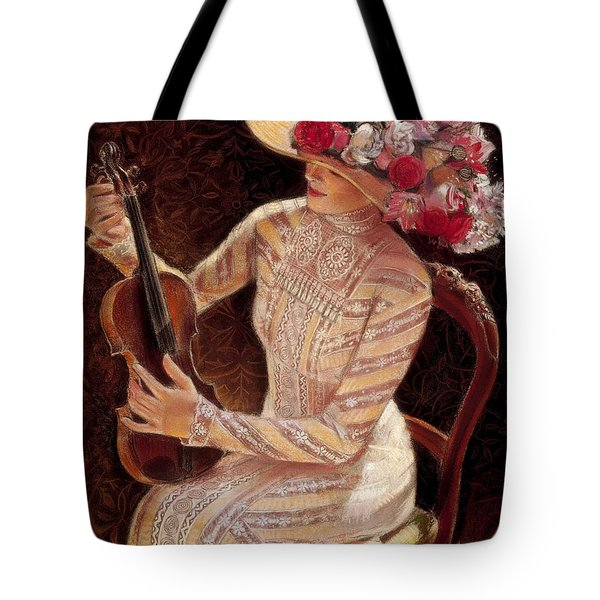 Getting In Tune Tote Bag