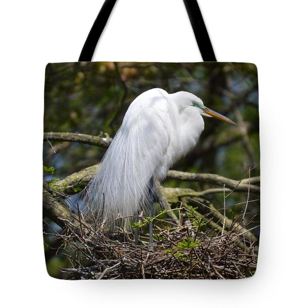Tote Bag featuring the photograph Getting Ready For Baby by Judith Morris