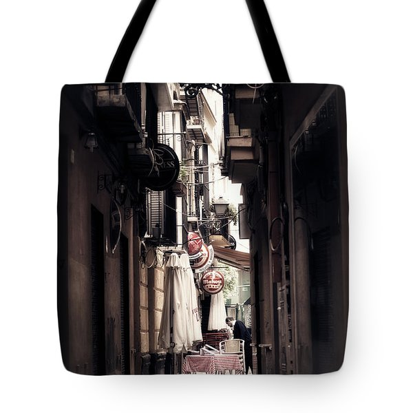 Getting Ready For The Day Tote Bag by Mary Machare