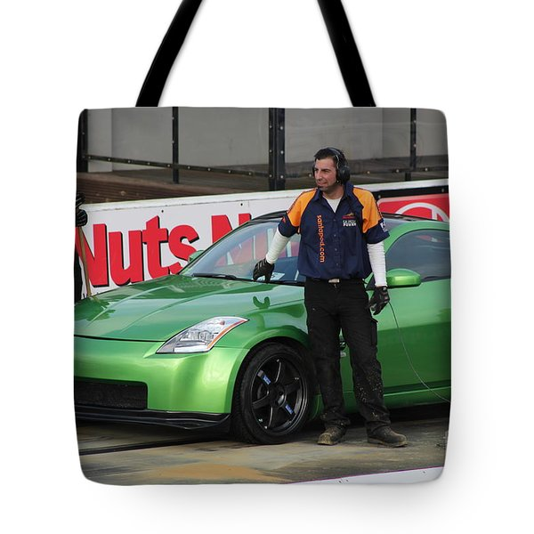 Getting Ready To Race Tote Bag
