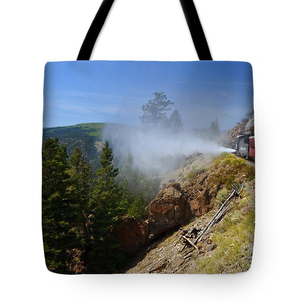 Getting Steamed Tote Bag