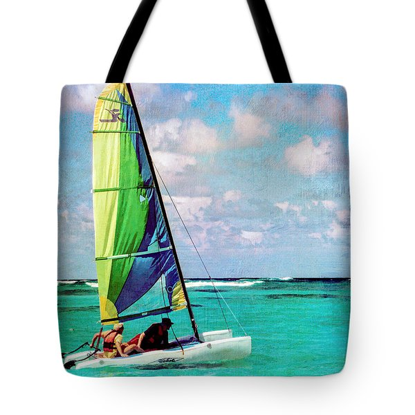 Getting Underway Tote Bag