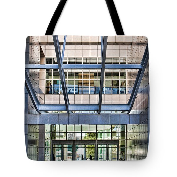 Getty Panes And Frames Tote Bag
