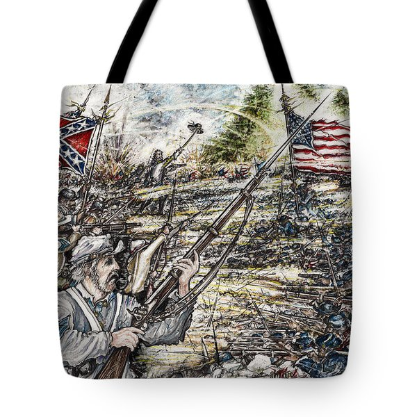 Gettysburg Ash's At The Angle Tote Bag