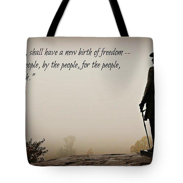 Gettysburg Remembrance Tote Bag