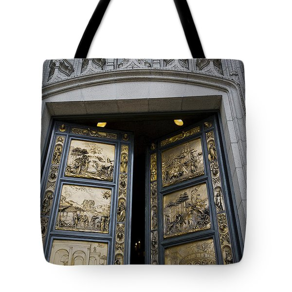 Ghiberti Doors Tote Bag by David Bearden
