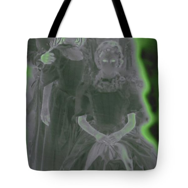 Ghost Family Portrait Tote Bag by First Star Art