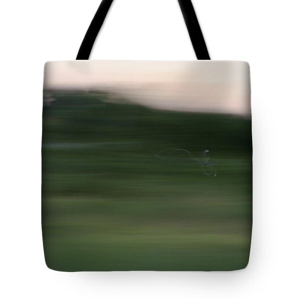 Tote Bag featuring the photograph Ghost Flight - Motion Art Print by Jane Eleanor Nicholas
