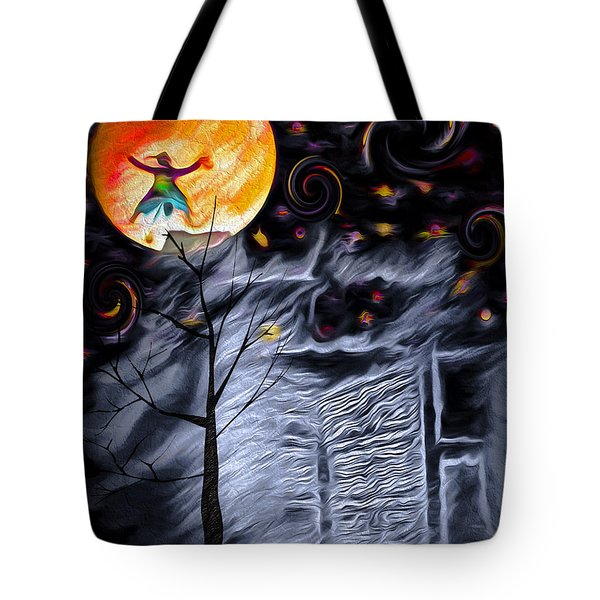 Ghost House 2 - Composite Tote Bag